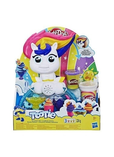 Beta Kids Play-Doh Dondurmacı Unicorn Renkli